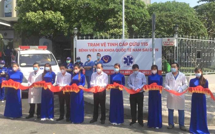 Trạm cấp cứu vệ tinh 115 thứ 36 tại Bệnh viện đa khoa Nam Sài Gòn.