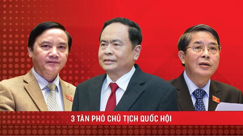 Quốc hội có 3 tân Phó Chủ tịch - Ảnh 1