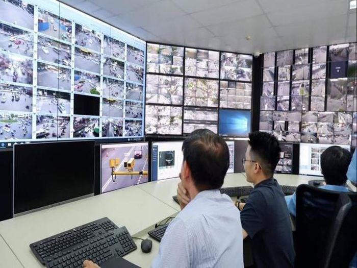 Hình ảnh ghi nhận các trường hợp vi phạm tại Trung tâm Quản lý điều hành giao thông đô thị. Ảnh: ĐÀO TRANG