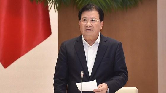 Phó Thủ tướng Trịnh Đình Dũng. Ảnh: QUANG PHÚC