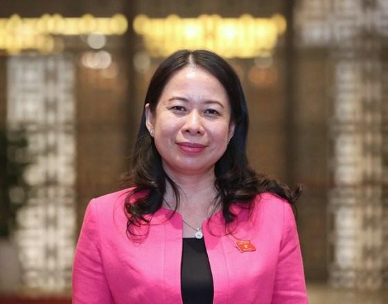 Đồng chí Võ Thị Ánh Xuân -tân Phó Chủ tịch nước. ẢNH: VIẾT CHUNG