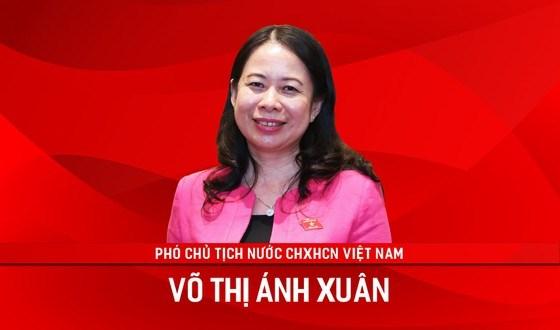Đồng chí Võ Thị Ánh Xuân làm Phó Chủ tịch nước - Ảnh 1