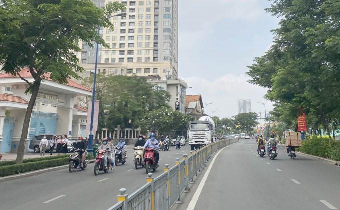 TP.HCM tổ chức giao thông phục vụ giải marathon quốc tế.