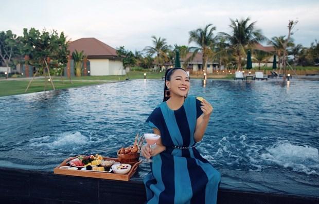 Các khi nghỉ dưỡng cao cấp giảm giá sâu trong năm qua là cơ hội lý tưởng cho du khách nội địa trải nghiệm dịch vụ 5 sao giá bình dân. (Ảnh: CTV/Vietnam+)