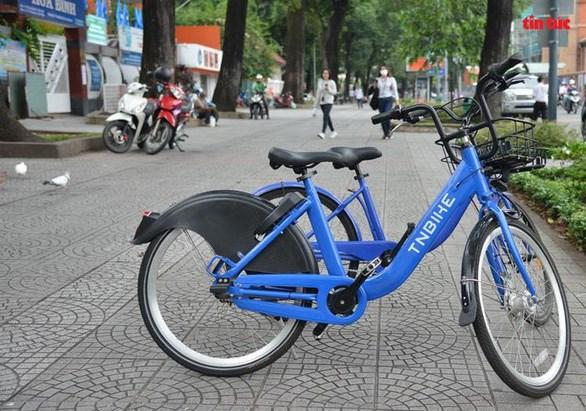 Mẫu xe đạp được đề xuất thí điểm - Ảnh: Sở Giao thông vận tải TP