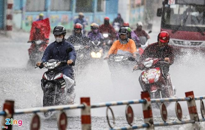 TP.HCM bất ngờ có mưa vào sáng sớm. Ảnh minh họa:Quỳnh Danh.
