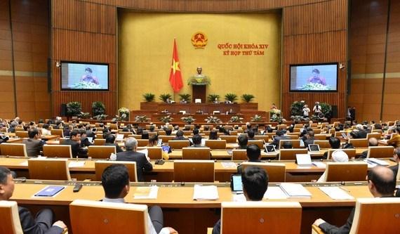 Lần đầu tiên, kỳ họp Quốc hội được tiến hành bán trực tuyến   - Ảnh 1