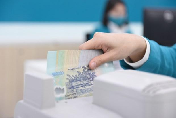 Nhiều ngân hàng đạt lợi nhuận trước thuế cao. (Ảnh: CTV/Vietnam+)