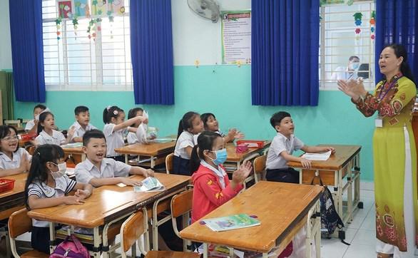 Một tiết dạy của giáo viên tiểu học ở TP.HCM