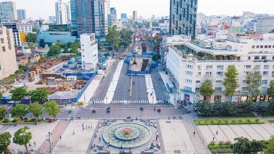 Hạ tầng khu trung tâm TPHCM được chỉnh trang xứng tầm thành phố hiện đại bậc nhất cả nước. Ảnh: DŨNG PHƯƠNG