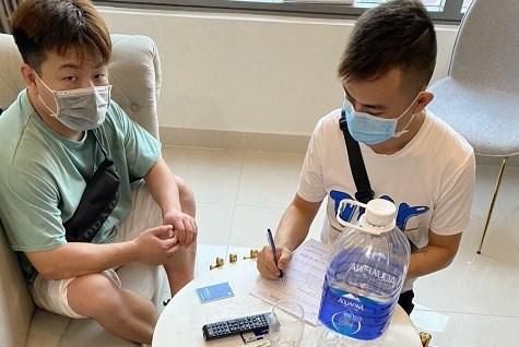 Deng Jun Ling (32 tuổi), 1 trong 3 người nhập cảnh trái phép. ẢNH: T.T