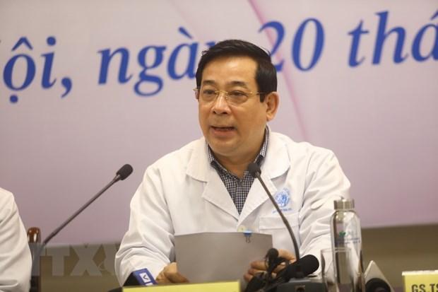 Phó giáo sư, tiến sỹ Lương Ngọc Khuê. (Ảnh: Huy Hùng/TTXVN)