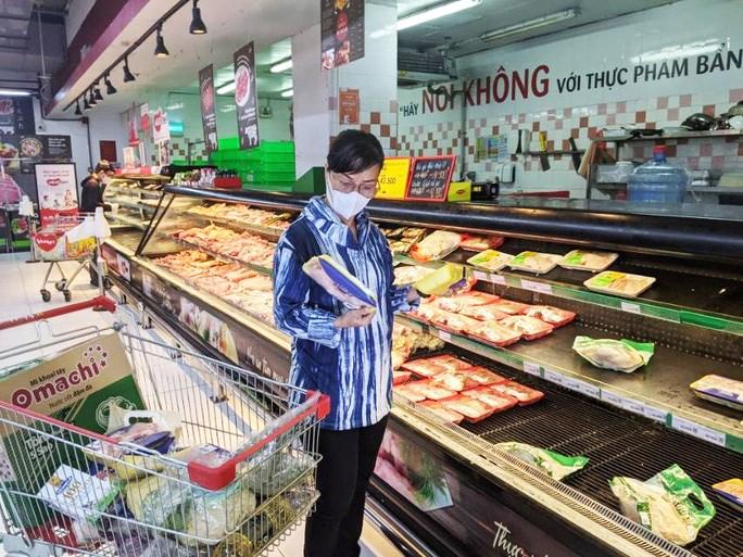 Đa số người tiêu dùng đi chợ, siêu thị để mua thực phẩm tươi sống