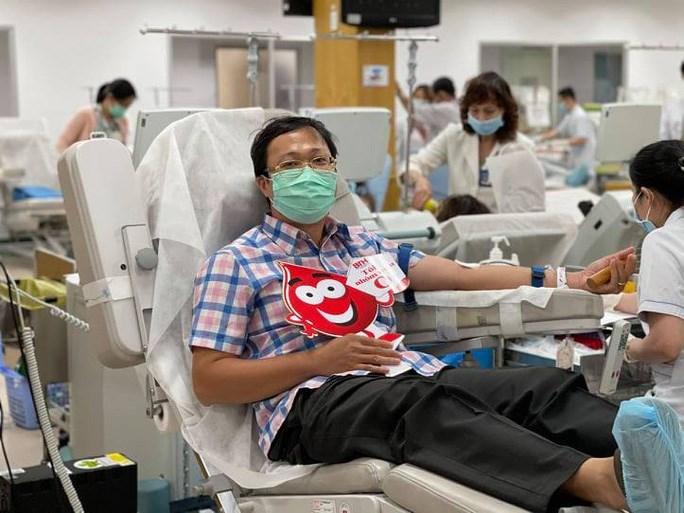 Nhiều người nhiệt tình tham gia hiến máu trong những ngày qua, giúp ổn định tình hình cung ứng máu. Ảnh: Bệnh viện Truyền máu - Huyết học TP HCM