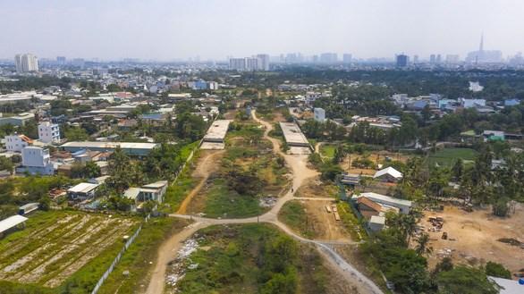 Trong năm 2021, nhiều dự án giao thông lớn sẽ được hoàn thành - Ảnh: QUANG ĐỊNH