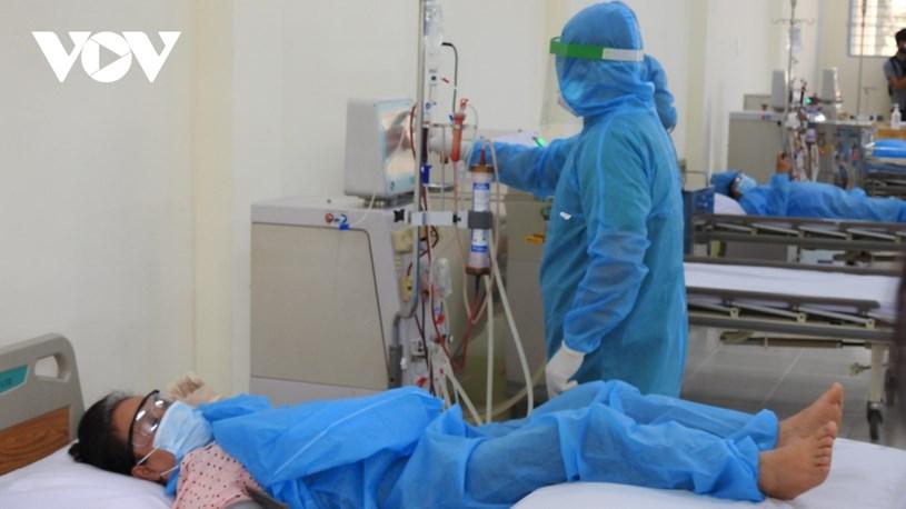 Đảm bảo phòng chống lây nhiễm Covid-19 trong quá trình chạy thận
