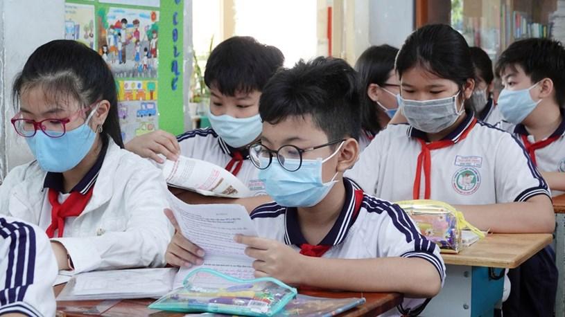 Học sinh lớp 5 năm nay sẽ vào lớp 6 theo chương trình giáo dục phổ thông mới. Ảnh: ĐÀO NGỌC THẠCH