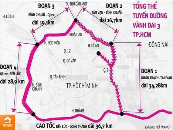 Khẩn trương triển khai các dự án thành phần đường Vành đai 3, 4 TPHCM - Ảnh 1