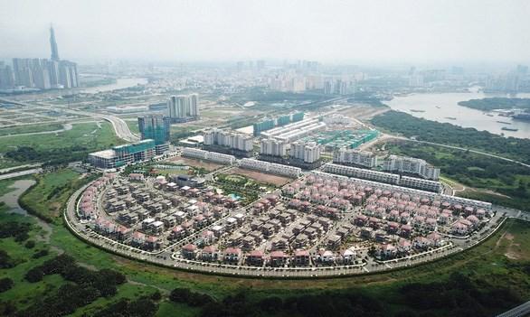 Khu Đô thị mới Thủ Thiêm đang dần rõ dáng trở thành một khu đô thị kiểu mẫu, hiện đại của cả nước. Ảnh: Báo Tuổi Trẻ