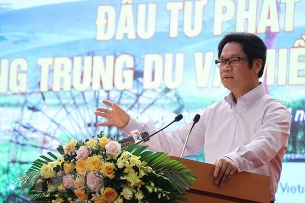 Ông Vũ Tiến Lộc, Chủ tịch Phòng Thương mại và Công nghiệp Việt Nam. (Ảnh: Trung Kiên/TTXVN)