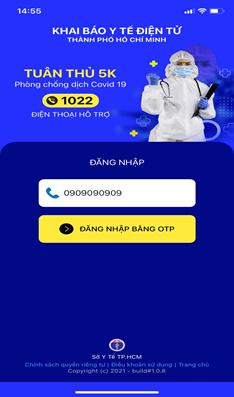 """Trả kết quả xét nghiệm bằng QR Code cho người dân qua ứng dụng di động """"Y tế HCM"""" - Ảnh 2"""