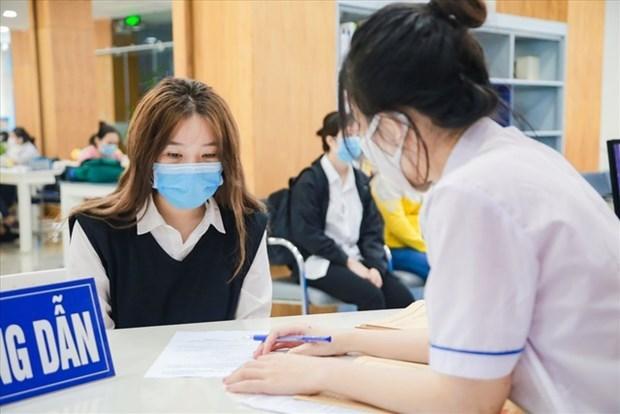 Trường Đại học Công nghiệp Thực phẩm TP.HCM hỗ trợ cho sinh viên. (Nguồn: Dantri)