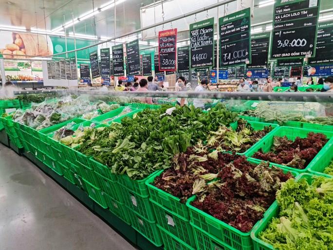 Nhu cầu tiêu thụ rau củ quả hằng ngày của người dân TP rất lớn