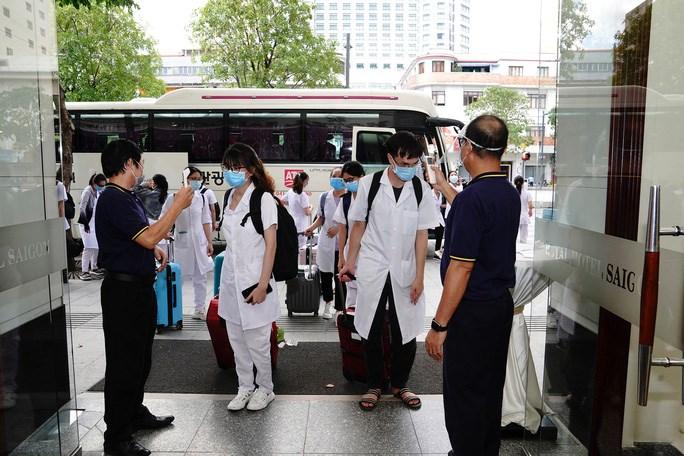 Một khách sạn trong hệ thống Saigontourist Group hỗ trợ chỗ ở miễn phí cho tuyến đầu chống dịch