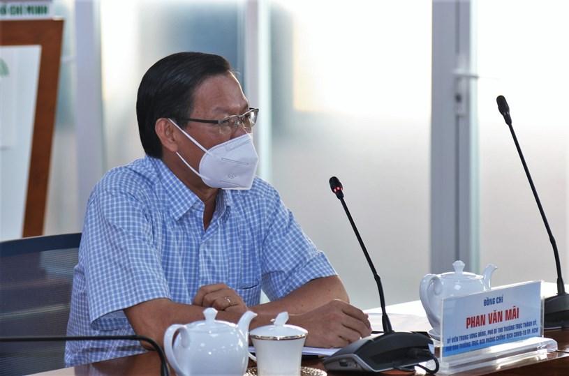 Phó Bí thư Thường trực Thành uỷ Phan Văn Mãi