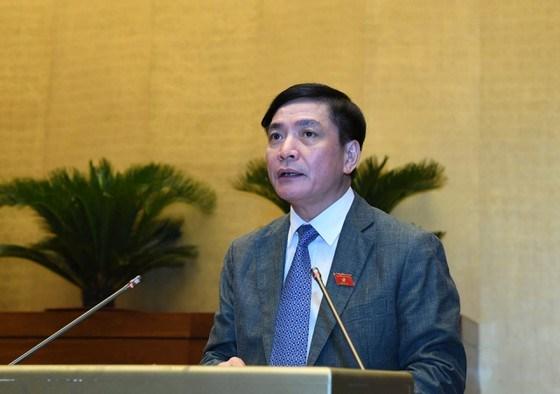 Tổng Thư ký Quốc hội Bùi Văn Cường. Ảnh: VIẾT CHUNG