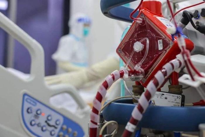 Hơn 2000 trang thiết bị y tế chuyển tới kho dã chiến ở TP.HCM. (Ảnh: Hải An)