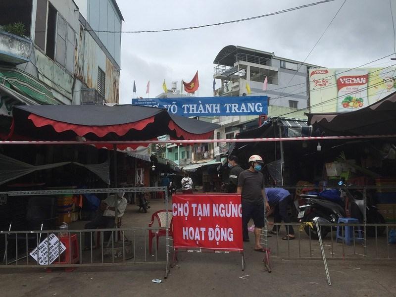 Chợ Võ Thanh Trang quận Tân Bình. ẢNH: TÚ UYÊN
