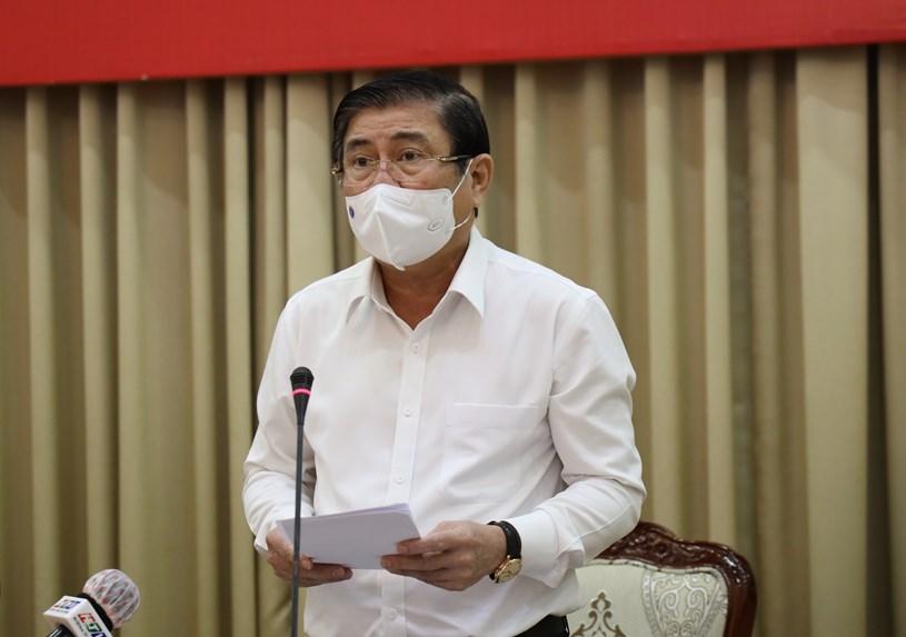 Chủ tịch UBND TP Nguyễn Thành Phong. Ảnh: Huyền Mai