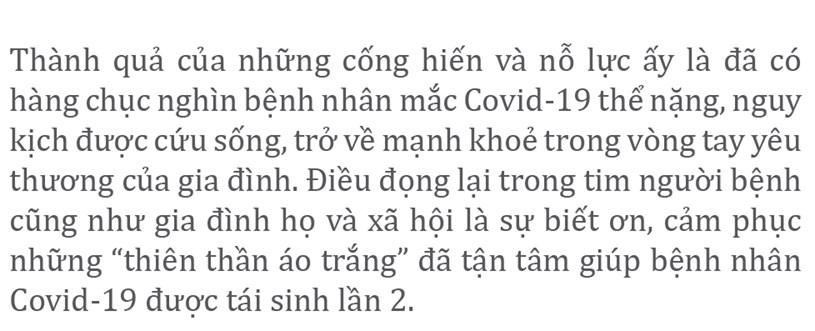 """Nỗ lực giành lại sự sống từ tay """"tử thần COVID-19"""" - Ảnh 20"""