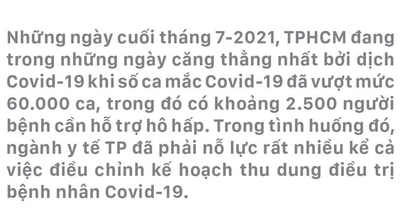 """Nỗ lực giành lại sự sống từ tay """"tử thần COVID-19"""" - Ảnh 2"""