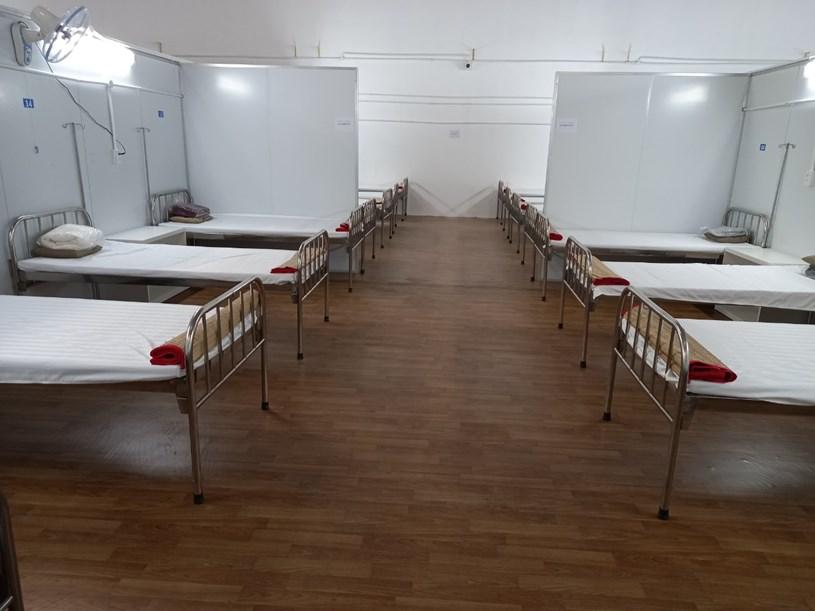 Phòng bệnh được chuẩn bị chu đáo trước khi đón bệnh nhân