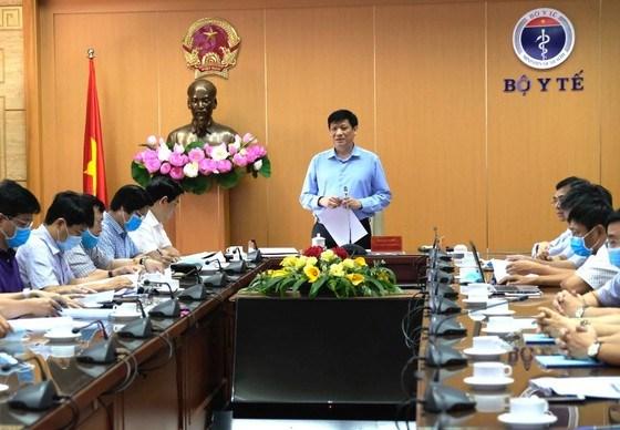 GS.TS Nguyễn Thanh Long, Quyền Bộ trưởng Bộ Y tế phát biểu tại hội nghị