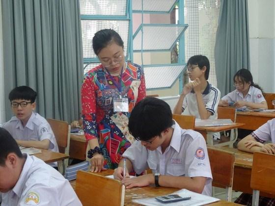Thí sinh tham dự Kỳ thi tuyển sinh lớp 10 năm học 2020-2021