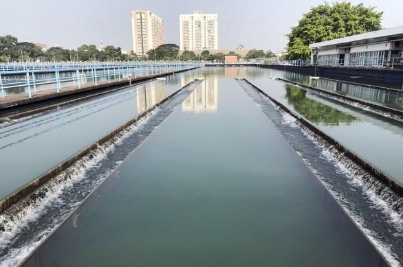 Nhà máy nước sạch Thủ Đức - Ảnh: LÊ PHAN