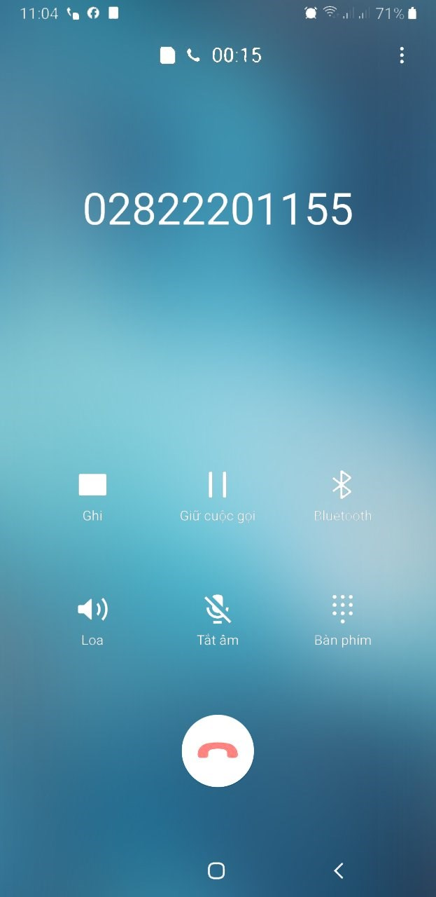 Hình ảnh hiện thị tên định danh thương hiệu hoặc số điện thoại của EVNHCMC trên điện thoại của khách hàng