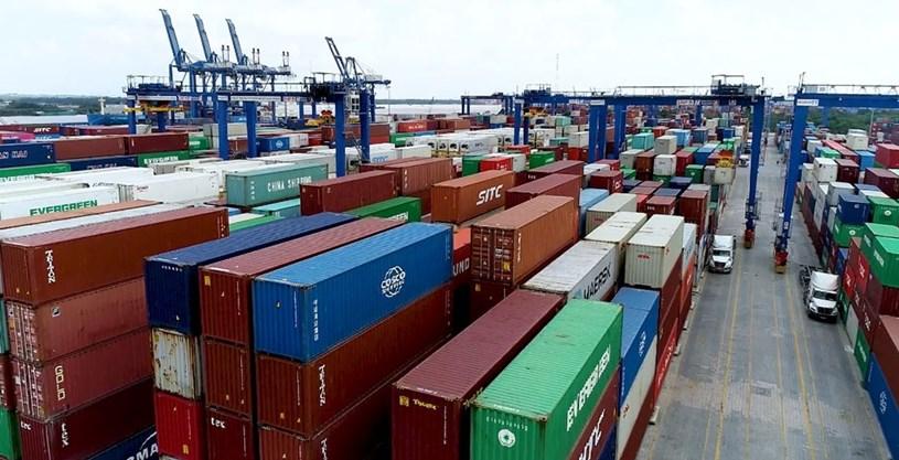 Lượng hàng tồn ở cảng Cát Lái đã trở về mức an toàn