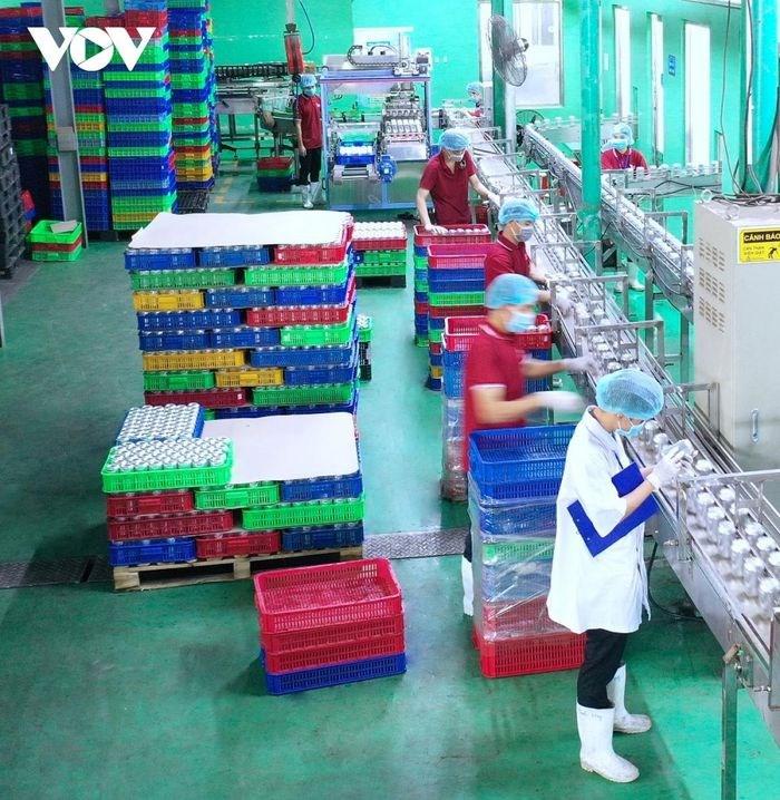"""Doanh nghiệp giảm số lao động để giãn cách trong sản xuất khi thực hiện """"3 tại chỗ""""."""