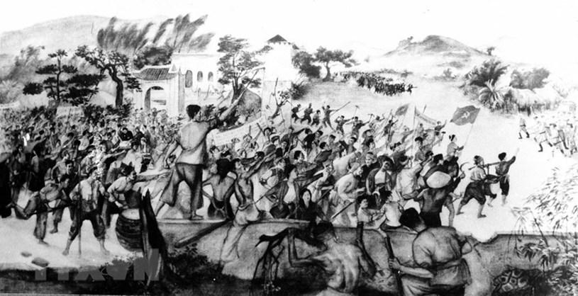Phong trào Xô Viết-Nghệ Tĩnh, đỉnh cao của cao trào cách mạng 1930 - 1931 tuy thất bại nhưng đã chứng tỏ tinh thần oanh liệt và năng lực cách mạng của nhân dân lao động Việt Nam, là cuộc tổng diễn tập đầu tiên cho thắng lợi của Cách mạng Tháng Tám năm 1945. (Ảnh: Tư liệu TTXVN)