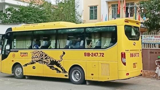 Xe khách chở người từ TPHCM vể tỉnh Thanh Hoá trái phép