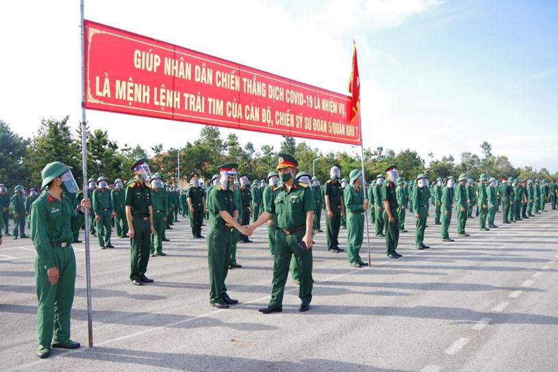 Sư đoàn 5 quyết tâm sẽ hoàn thành thắng lợi nhiệm vụ này bằng tinh thần, trách nhiệm cao nhất.