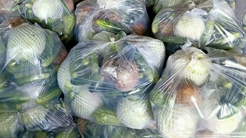 Combo 5 loại nông sản tại TPHCM đang có rất đông người tiêu dùng đặt mua - Ảnh Báo Thanh niên