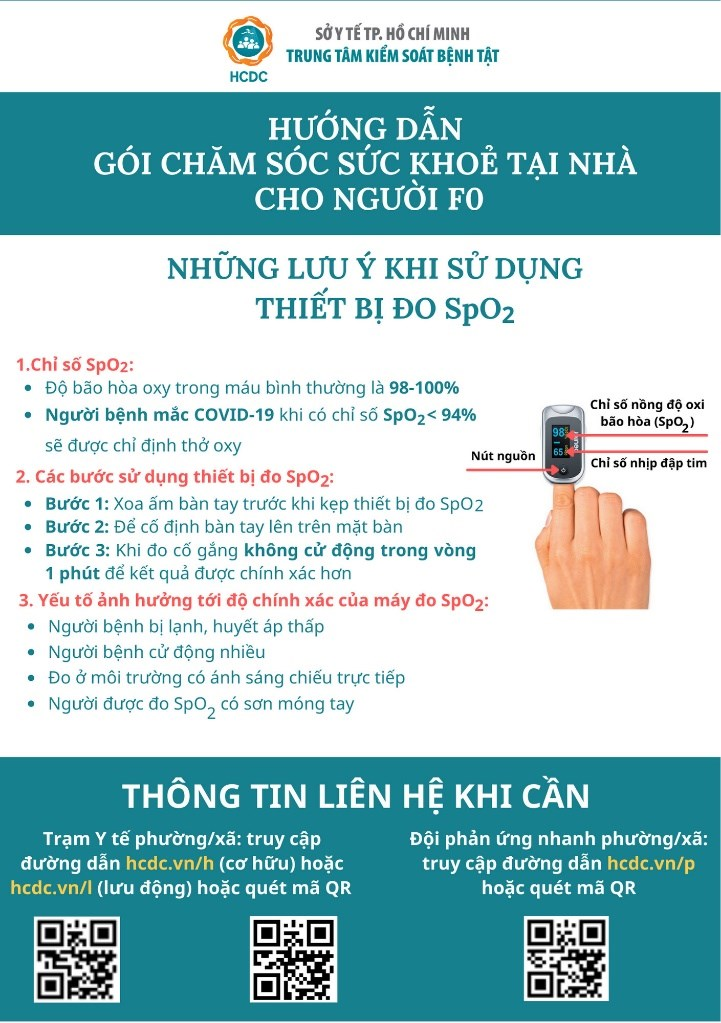 Hướng dẫn gói chăm sóc sức khỏe tại nhà cho người F0  - Ảnh 8