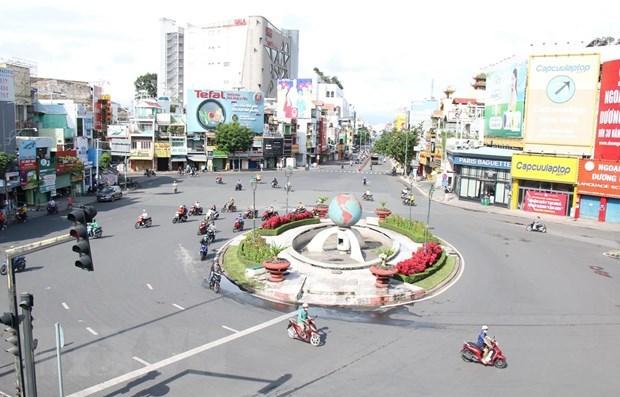 Một góc Thành phố Hồ Chí Minh. (Nguồn: TTXVN)