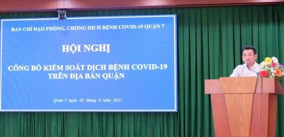 Quận đầu tiên ở TPHCM công bố kiểm soát được dịch Covid-19 - Ảnh 2
