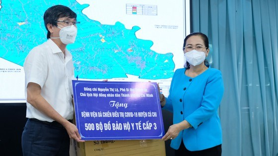 Chủ tịch HĐND TPHCM Nguyễn Thị Lệ: Huyện Củ Chi mở cửa nhưng không để dịch lây lan, mất kiểm soát - Ảnh 4